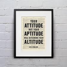 Attitude vs aptitude