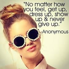 dress up show up