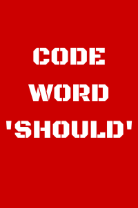 CODEWORDSHOULD